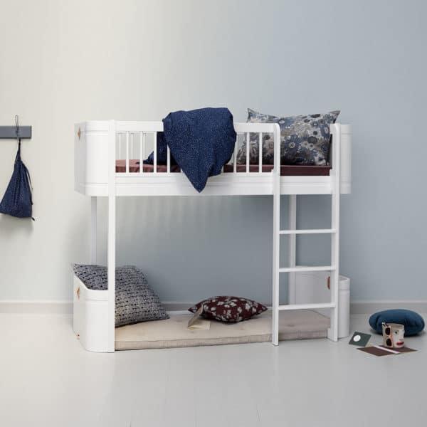 Oliver Furniture Wood Halbhohes Hochbett 3