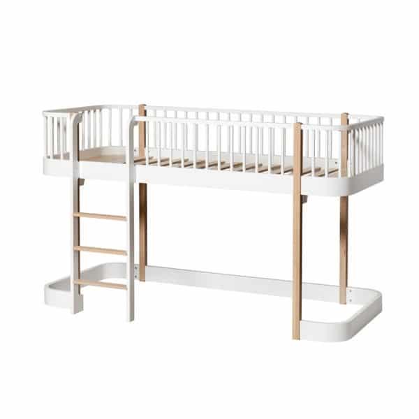 Oliver Furniture Wood Halbhohes Hochbett