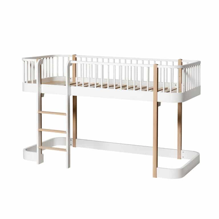 Oliver Furniture Wood Halbhohes Hochbett