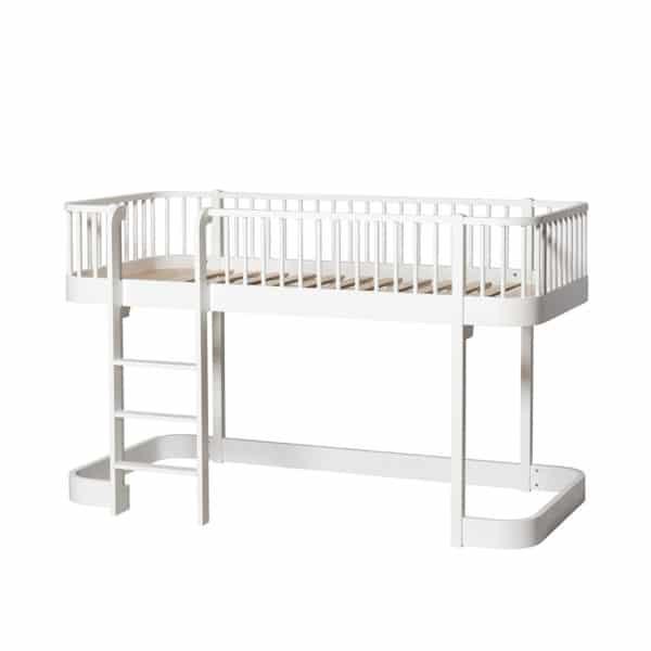Oliver Furniture Wood Halbhohes Hochbett 4