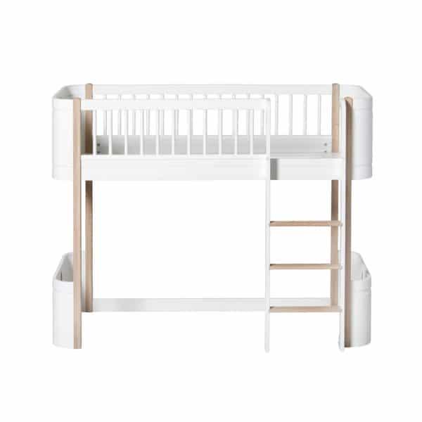 Oliver Furniture Wood Umbauset für Mini+ zum halbhohen Hochbett 3