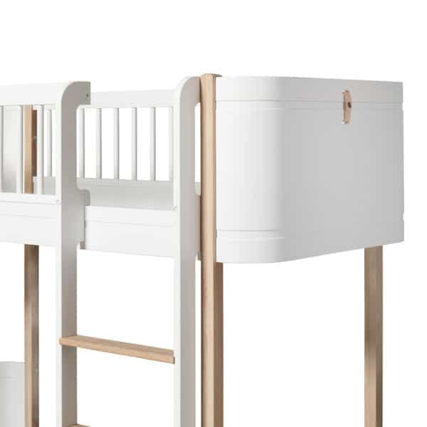 Oliver Furniture Wood Mini+ halbhohes Hochbett 4