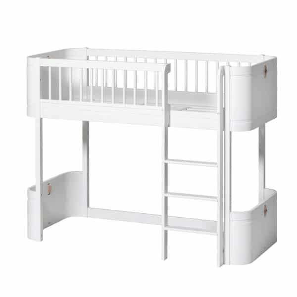 Oliver Furniture Wood Umbauset für Mini+ zum halbhohen Hochbett 4