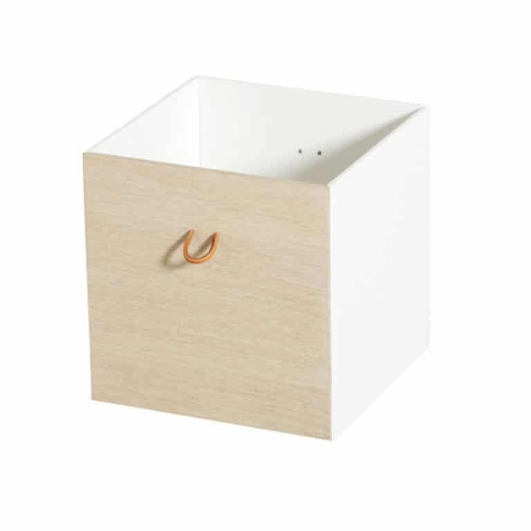 Oliver Furniture Wood Kisten weiß/eiche, 3 Stück