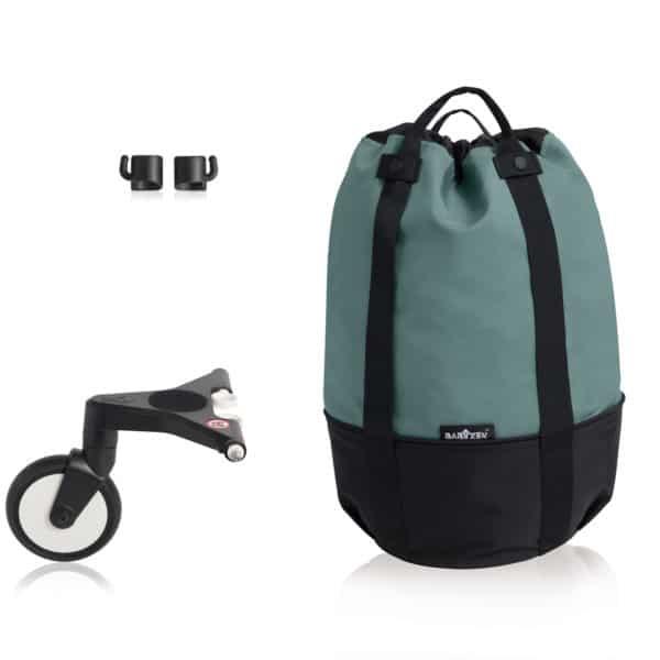 BABYZEN YOYO bag – die rollende Tasche aqua