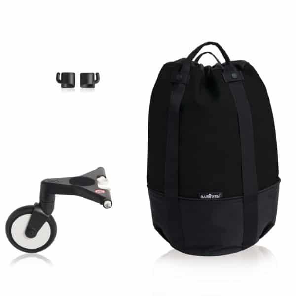 BABYZEN YOYO bag – die rollende Tasche black