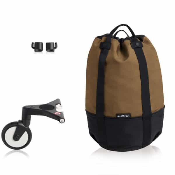 BABYZEN YOYO bag – die rollende Tasche toffee