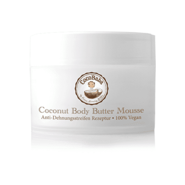 CocoBaba Coconut Body Butter Mousse