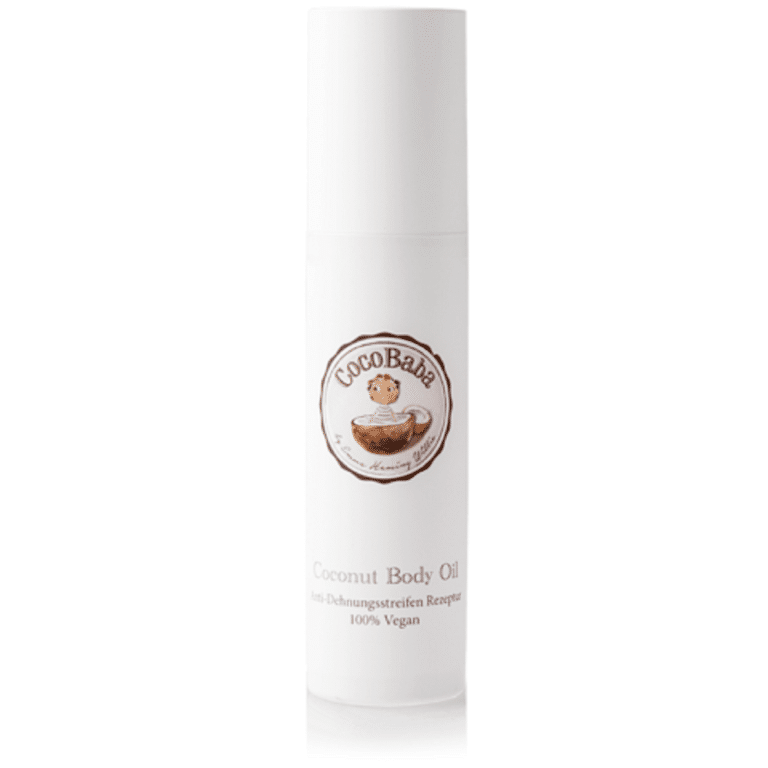 CocoBaba Coconut Body Oil