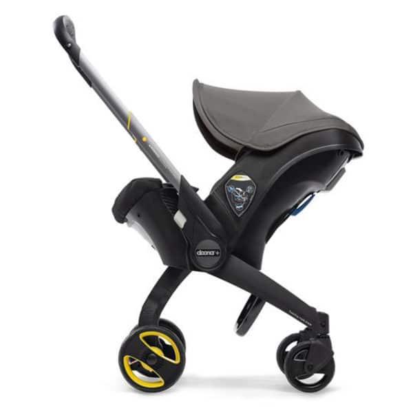 Doona+ Die Babyschale mit integriertem Travelsystem grey-hound