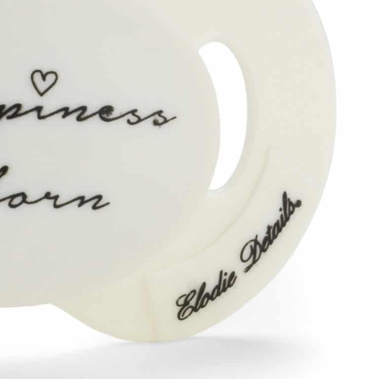 """Elodie Details Schnuller Newborn - """"Happiness is born"""" 2"""