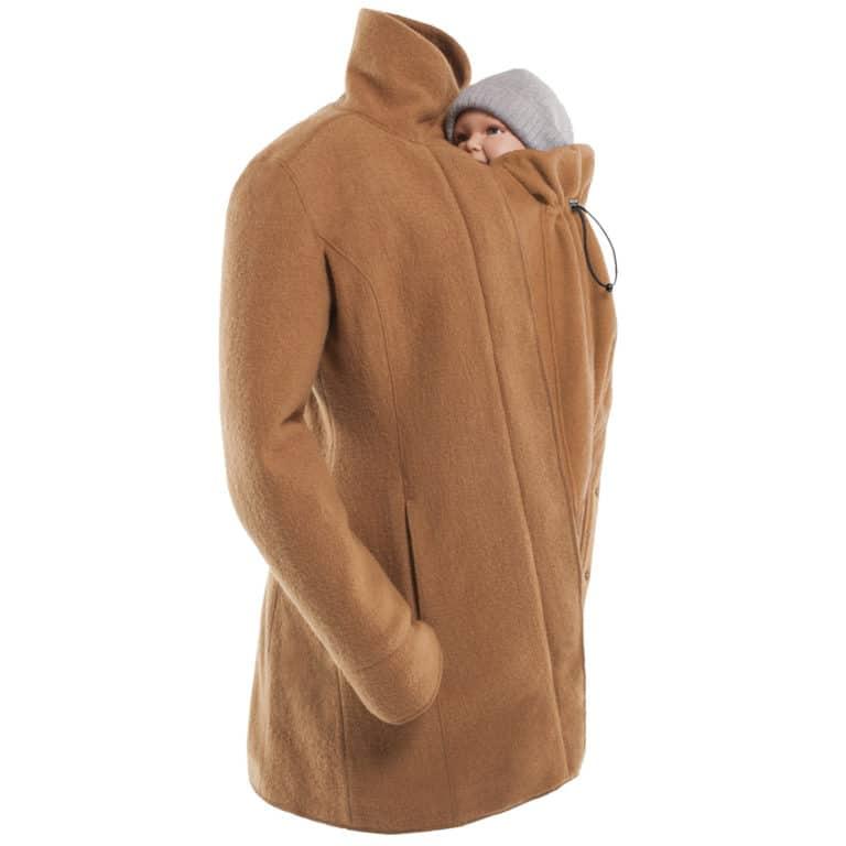 Mamalila Eco-Wool-Tragemantel camel