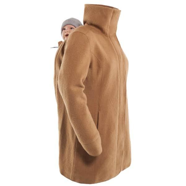 Mamalila Eco-Wool-Tragemantel camel 6