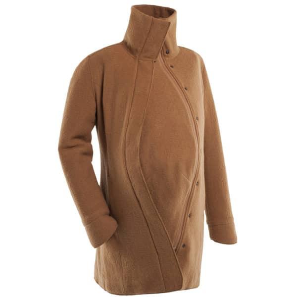 Mamalila Eco-Wool-Tragemantel camel 5