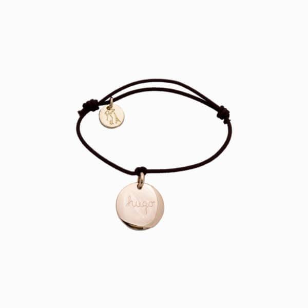 Pelina Bijoux One charm Armband in gold/ individuelle Gravur