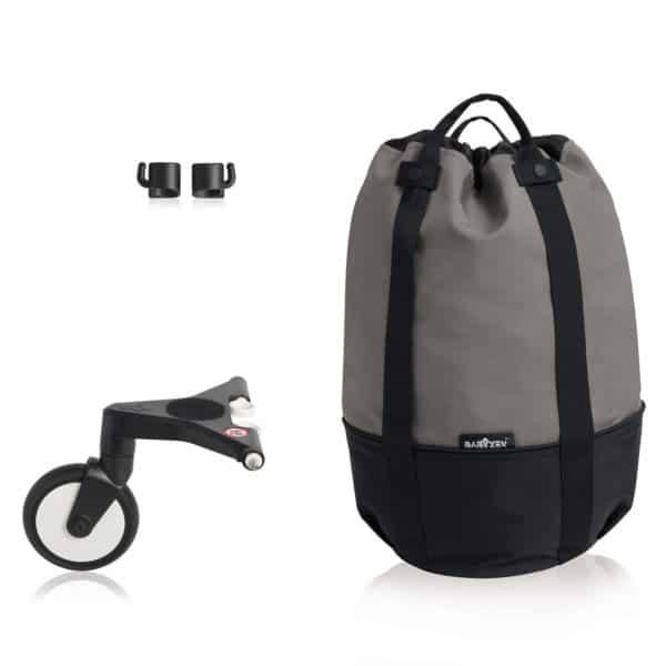 BABYZEN YOYO bag – die rollende Tasche grey