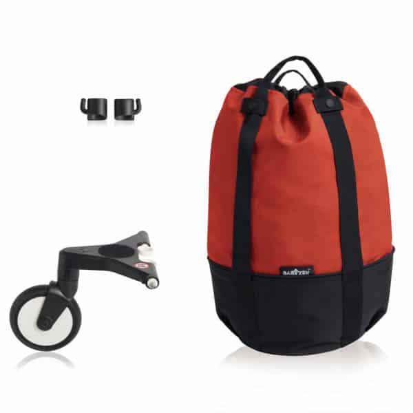 BABYZEN YOYO bag – die rollende Tasche red