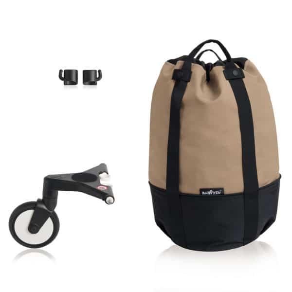 BABYZEN YOYO bag – die rollende Tasche taupe