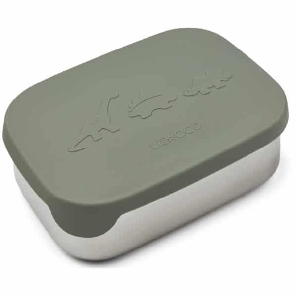 Liewood Lunchbox Arthur Dino faune green