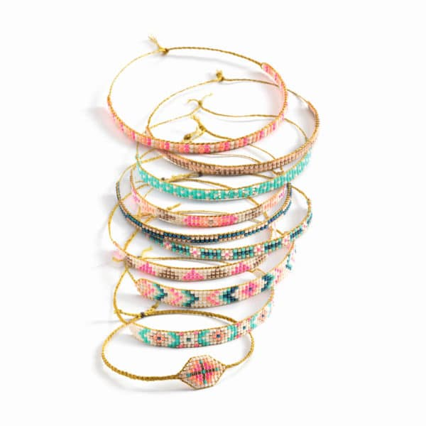 Djeco Armbänder Weben mit Perlen 2
