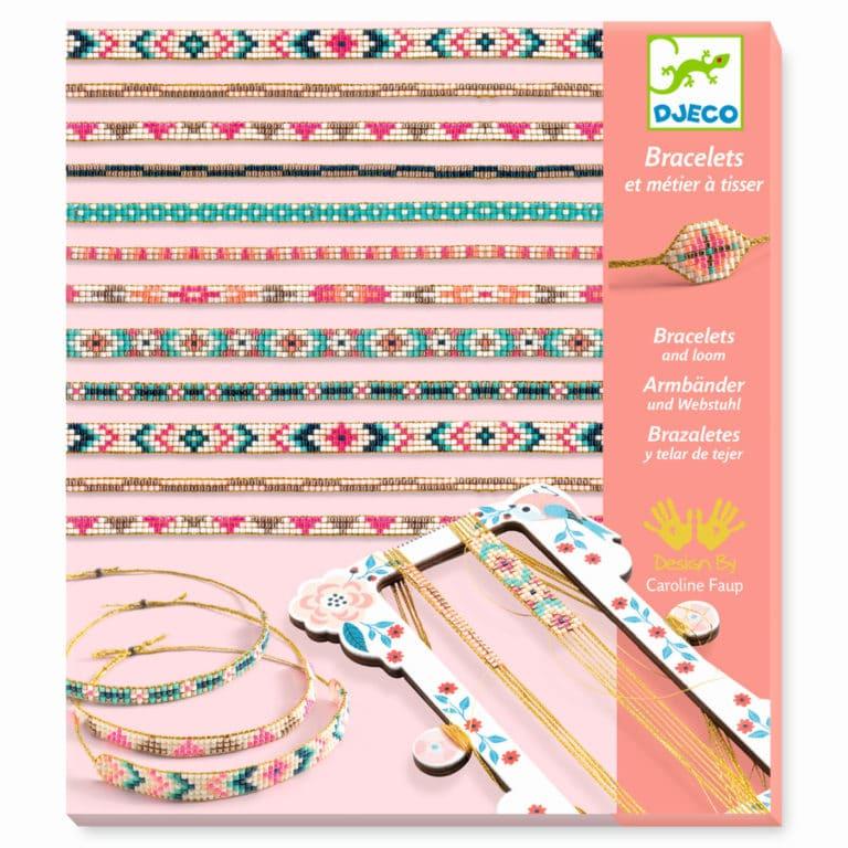 Djeco Armbänder Weben mit Perlen