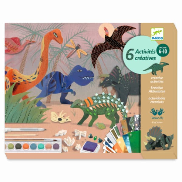 Djeco Multi Activity Set Welt der Dinosaurier