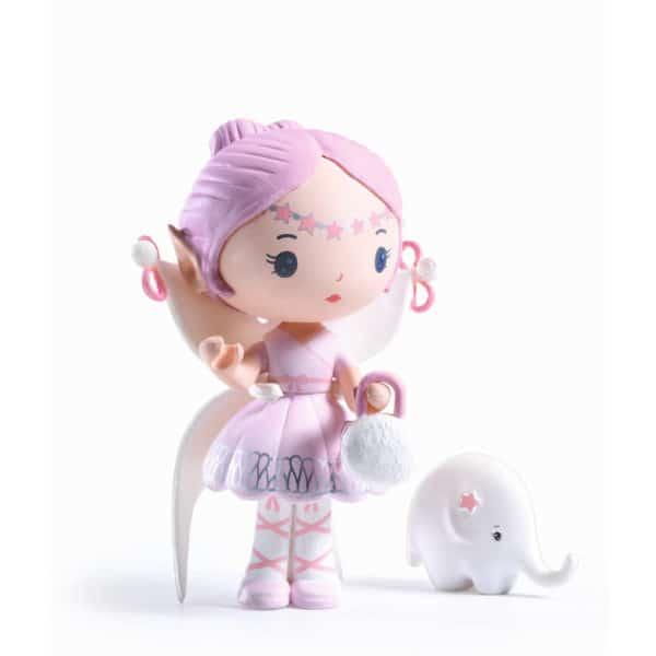 Djeco Tinyly Spielfigur Elfe & Bolero