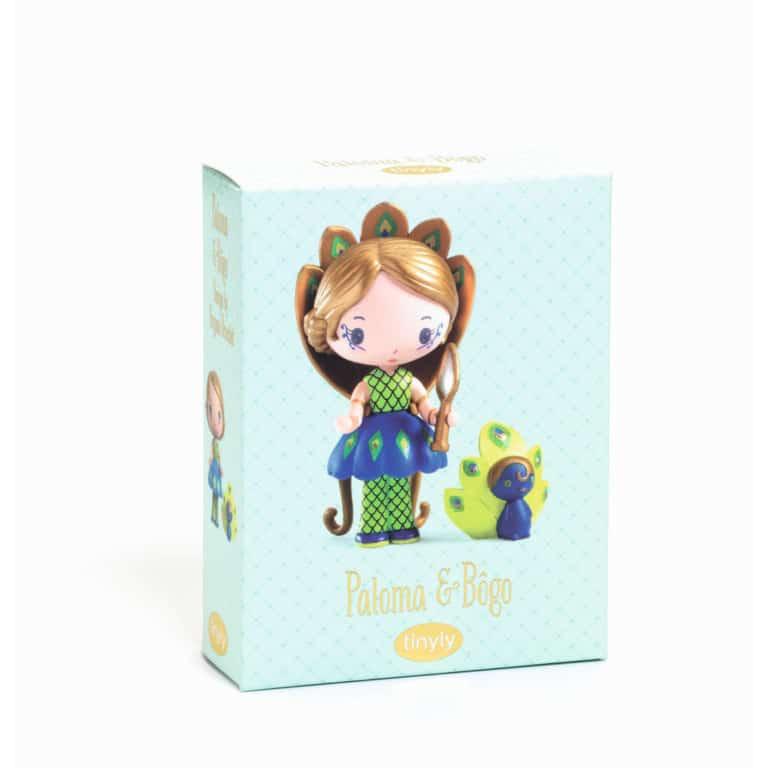Djeco Tinyly Spielfigur Paloma & Bôgo 1