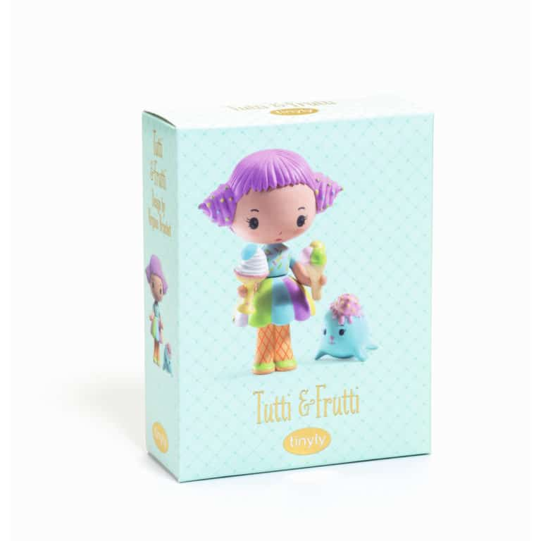 Djeco Tinyly Spielfigur Tutti & Frutti 1