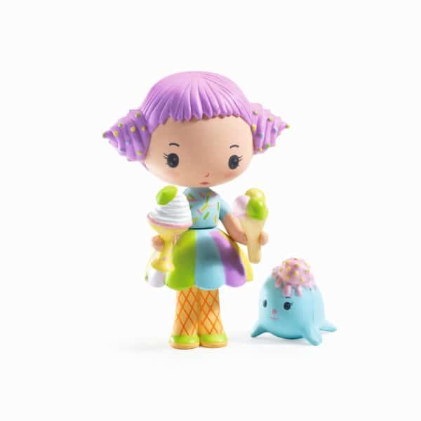 Djeco Tinyly Spielfigur Tutti & Frutti