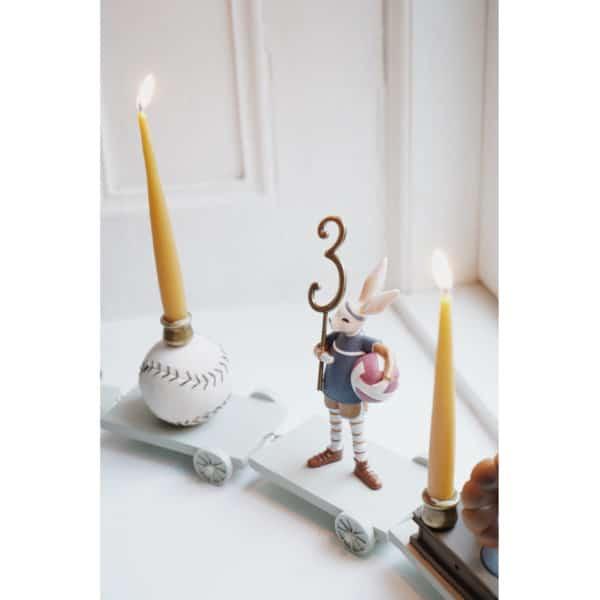 Konges Sløjd Kerzen zum Geburtstagszug (20er Pack) 1