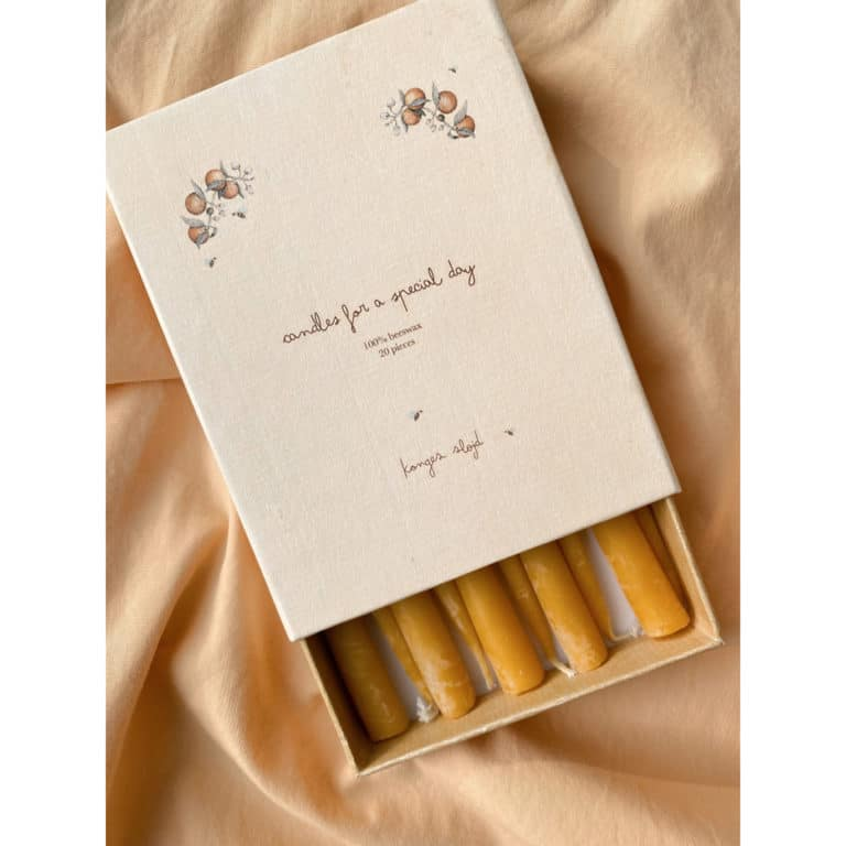 Konges Sløjd Kerzen zum Geburtstagszug (20er Pack) 2
