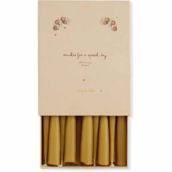 Konges Sløjd Kerzen zum Geburtstagszug (20er Pack)
