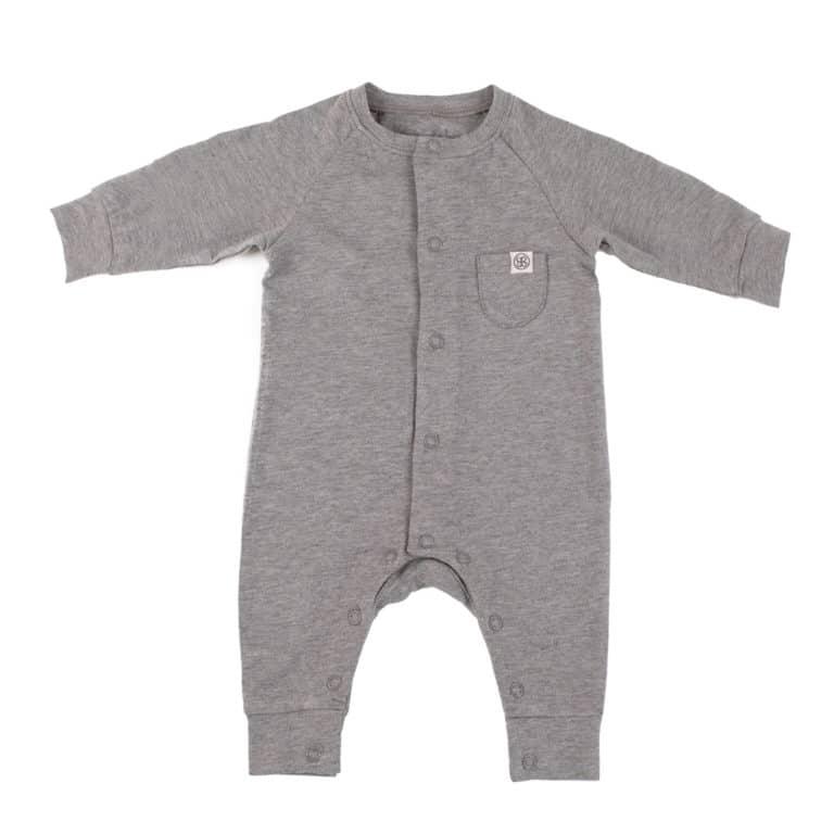 Cloby Playsuit mit UV-Schutz stone grey