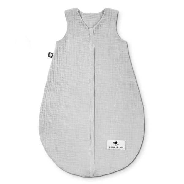 Julius Zöllner Sommerschlafsack aus Baumwollmusselin grau