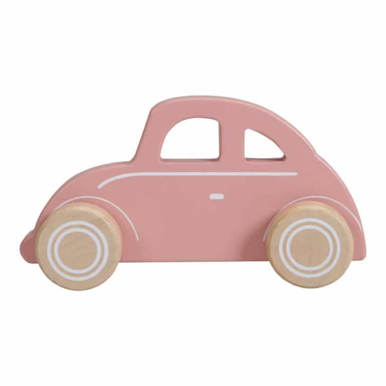Little Dutch Holz Auto rosa