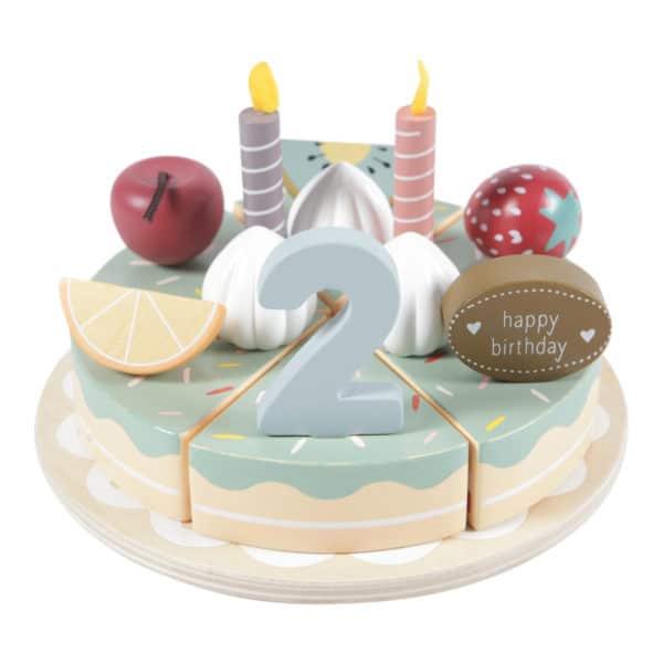 Little Dutch Holz-Geburtstagstorte 1