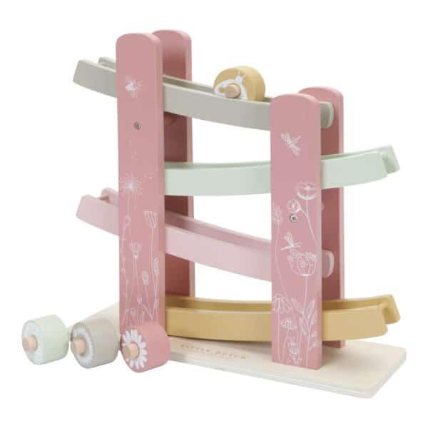 Little Dutch Holzrollbahn pink 1
