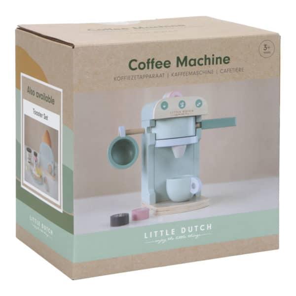 Little Dutch Kinder-Kaffeemaschine aus Holz 1