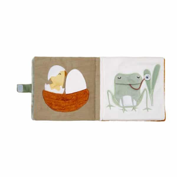 Little Dutch Stoffbuch mit Aktivitäten Little Goose 2
