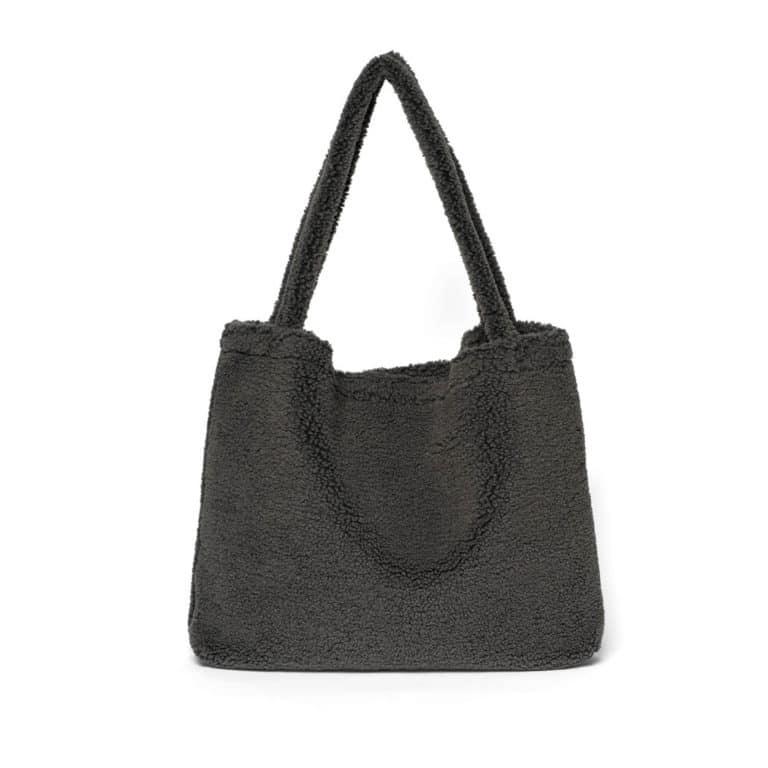 Studio Noos Chunky teddy Mom-bag Dark Grey